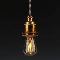 Danlamp E14 Vintage Deko LED Mini Edison Lampe 240V/2,5W
