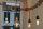 Textilkabel Pendelleitung dunkelblau E27 Fassung Metall Kupfer und 2 Schraubringe