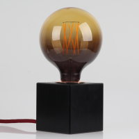 Danlamp E27 Vintage Deko LED Mega Edison Sunrise Lampe 125mm 240V/2,5W