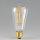 Danlamp E27 Vintage Deko LED Edison Gold Lamp 240V/2,5W