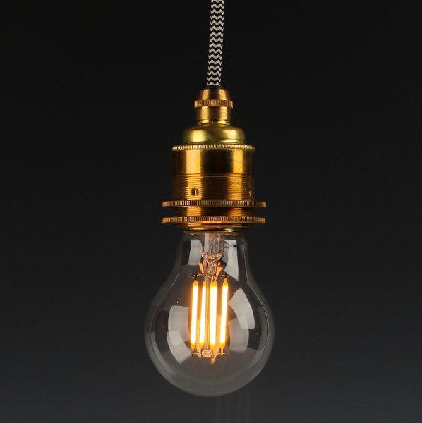 Danlamp E27 Vintage Deko LED Exterior Lampe 60mm 240V/2.5W
