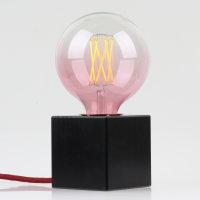 Danlamp E27 Vintage Deko LED Mega Edison Red Lampe 125mm 240V/2,5W