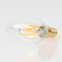 Danlamp E14 Vintage Deko LED Kerzenform klar Lampe 35mm 240V/4W