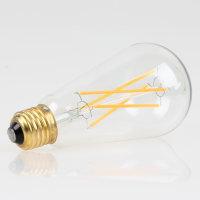 Danlamp E27 Vintage Deko LED Edison Lamp II 64mm 240V/4W