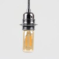 Danlamp E27 Vintage Deko LED Exterior Röhren Lampe Gold 38mm 240V/2.5W