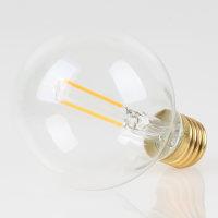 Danlamp E27 Vintage Deko LED Globe De Luxe One 80mm 240V/1W