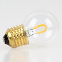 Danlamp E27 Vintage Deko LED Tropfenform Lampe 45mm 230V/1W