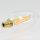 Danlamp E14 Vintage Deko LED Kerzenform klar Lampe 45mm 240V/3,5W