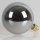 Danlamp E27 Vintage Deko LED Mega Edison Smoke Lampe II 125mm 240V/4W