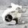 """Spardose Hund """"Funny Bulldog"""" französische Bulldogge Höhe 19cm aus Keramik weiss silber"""