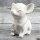 """Spardose Hunde """"Mini Dog Paar"""" französische Bulldogge aus Keramik weiss"""