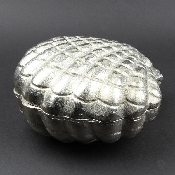 """Deko Jakobsmuschel """"Scallop"""" aus Aluminium 18x18cm"""