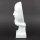 """Deko Design Skulptur denkendes Gesicht """"Thinking One"""" aus Keramik weiß 30cm"""