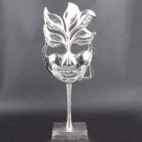 """Deko Design Skulptur """"Flame Lady"""" aus Aluminium..."""
