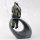 """Deko Design Skulptur Figur """"Moment"""" aus Polypropylen 27cm bronzefarben"""