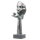 """Deko Design Skulptur Figur """"Desire"""" aus Polypropylen 34cm bronzefarben"""