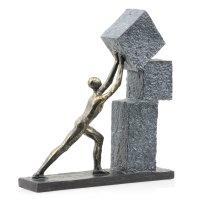 "Deko Design Skulptur Figur ""Stacking"" aus..."