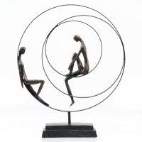 """Deko Design Skulptur Figur """"Patience"""" 41cm..."""